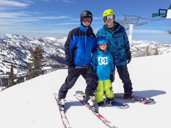 Utah- Brighton Skiing